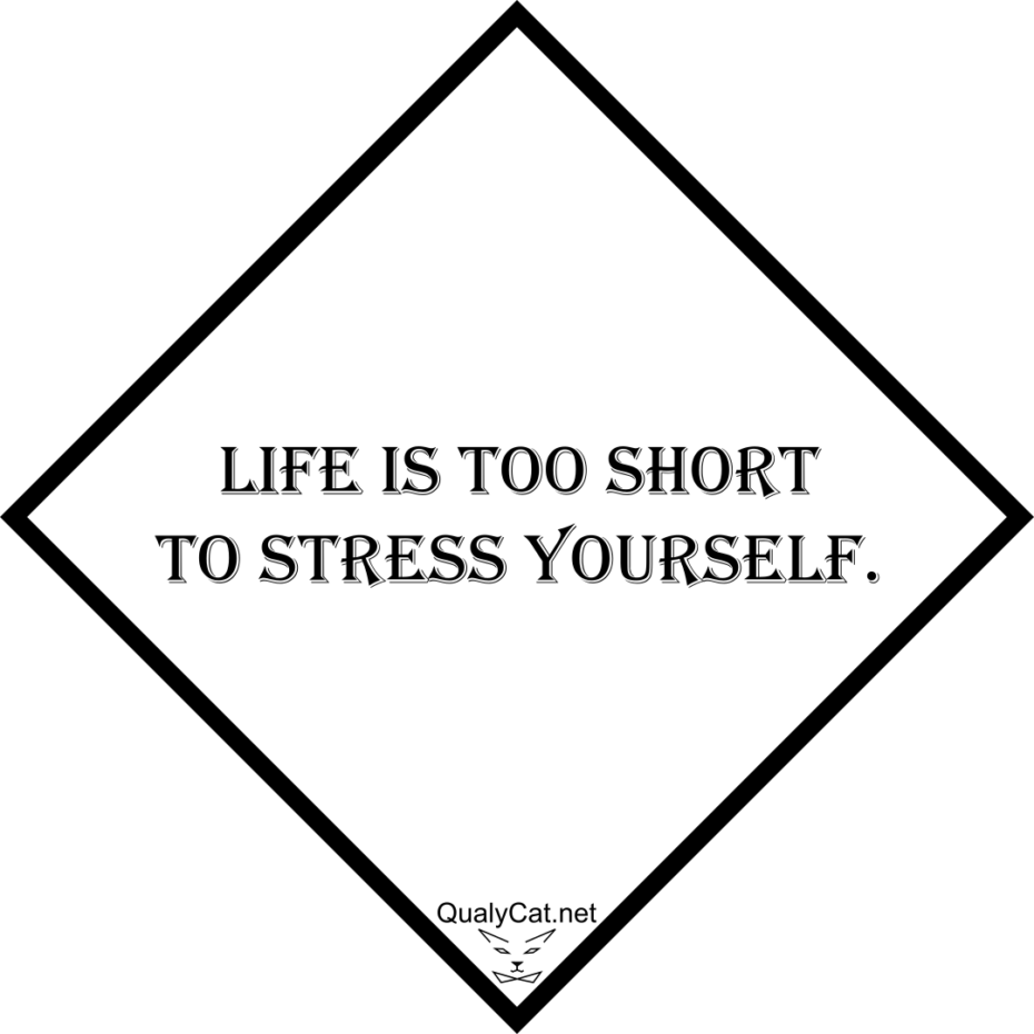 [:en]life is too short to stress yourself[:]