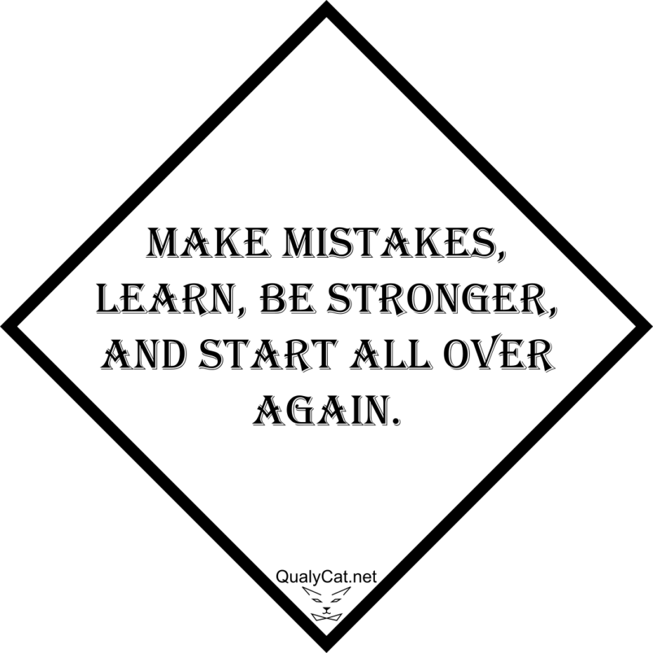 [:en]make mistakes learn be stronger and start all over again[:]